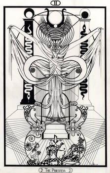 II The Priestess - Tarot - Original
