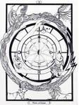 X - The Wheel of Fortune / Das Rad Tarot-Original