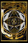 XXI - The Universe / Das Universum Tarot