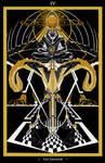 IV - The Emperor / Der Kaiser Tarot Original