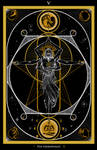 V-The Hierophant / Der Hohepriester Tarot Original