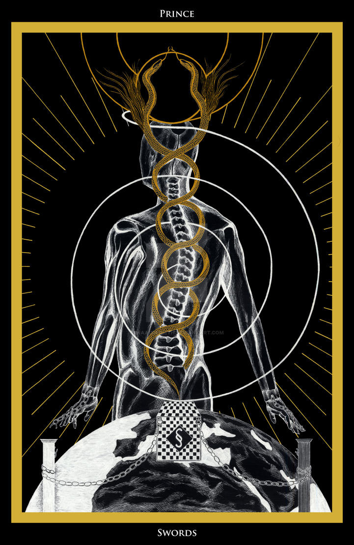 Prince of Swords / Prinz der Schwerter Tarot by ...