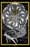 Seven of Swords / Sieben der Schwerter - Tarot