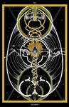 Six of Swords / Sechs der Schwerter Tarot by InaAuderieth