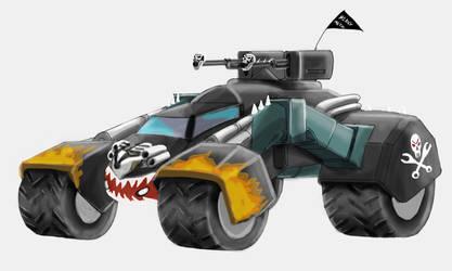 racing armored heavy metal