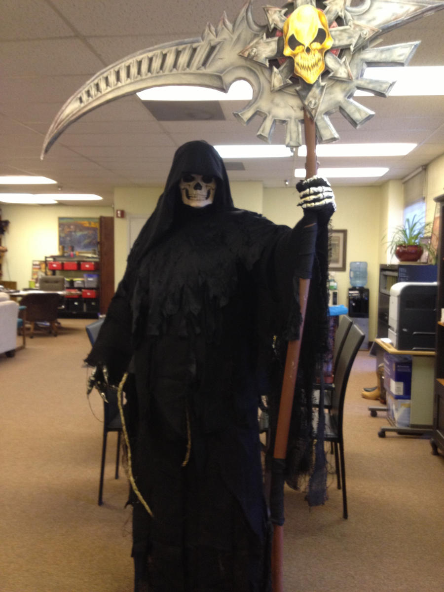 Amazoncom grim reaper costume for kids