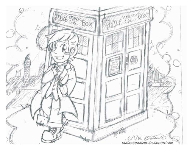 Goodbye 11th Doctor/ Matt Smith by RadiantGradient