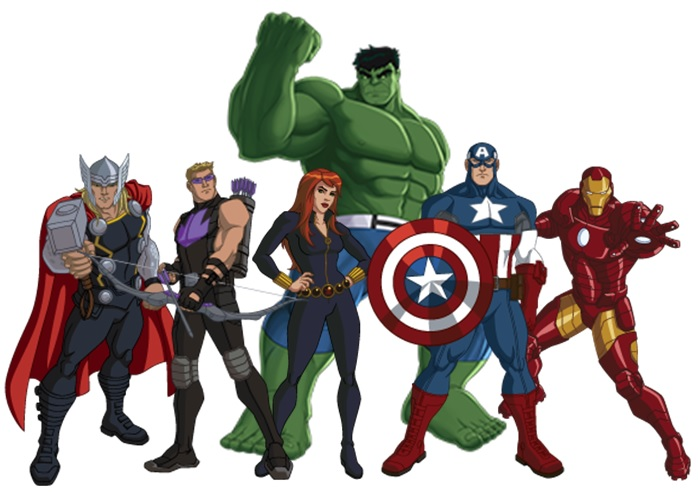 Image result for cartoon avengers