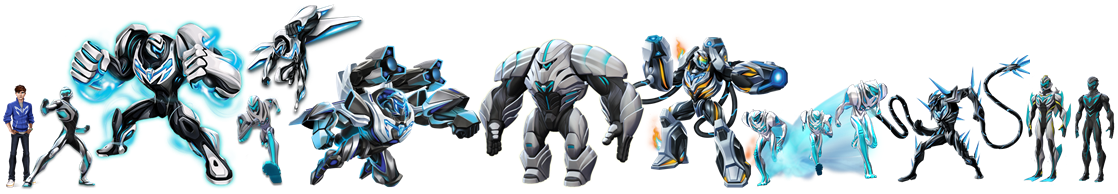 Max Steel's Turbo Modes by TFPrime1114 on DeviantArt