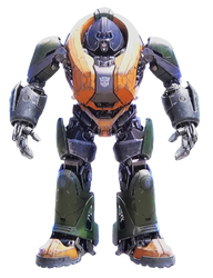 Transformers Bumblebee Brawn Render by TFPrime1114