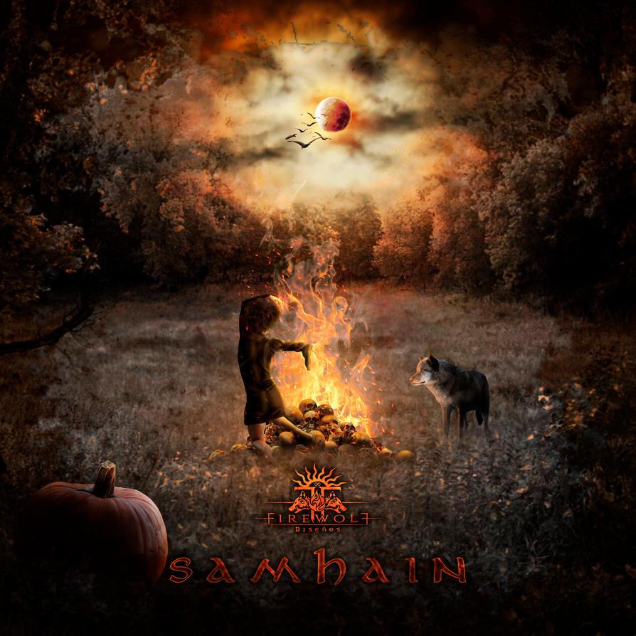 Samhain by FirewolfDigitalArt