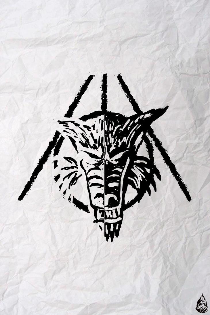 Awolfn by FirewolfDigitalArt
