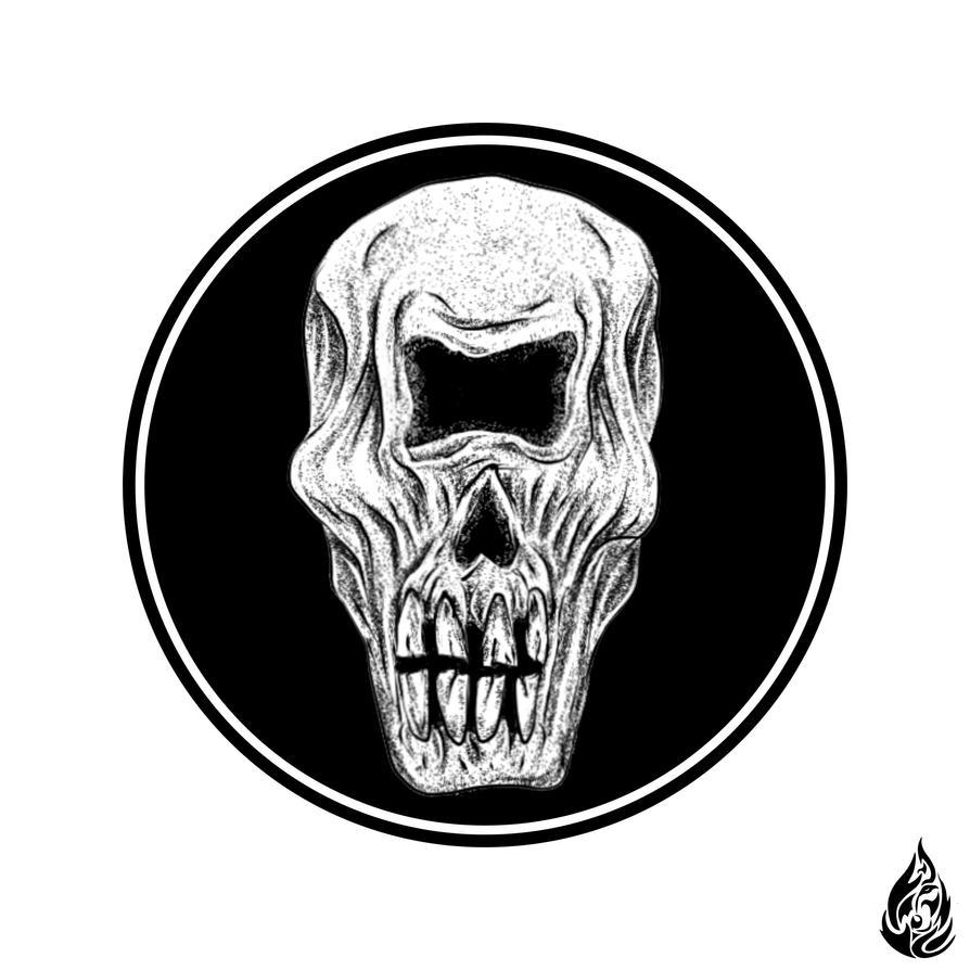 Cyclop Skull by FirewolfDigitalArt
