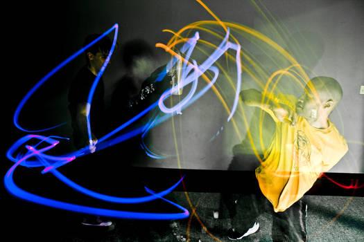 Kung Fu Glow Sticks