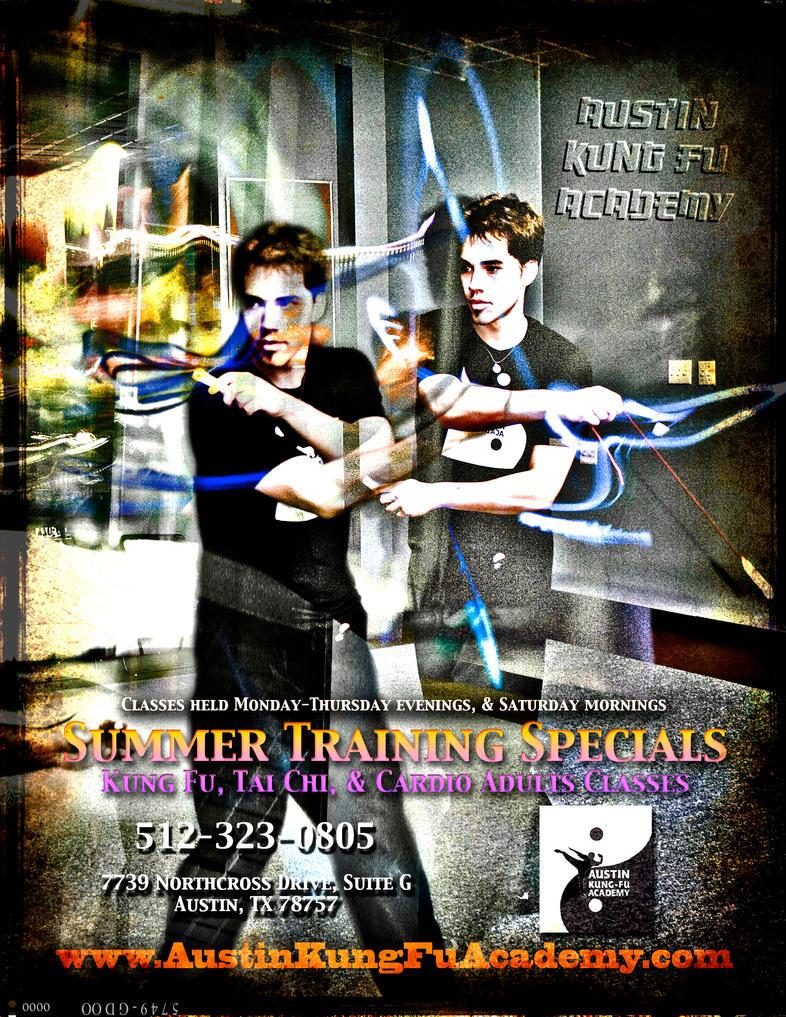 Kung Fu Summer Training by firestripe