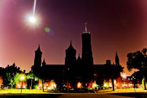 Smithsonian Castle by firestripe