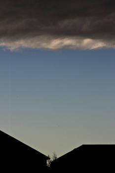 Dark Cloud Blue Sky