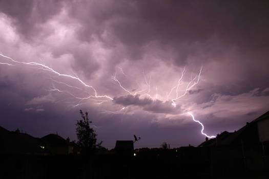 Backyard Lightening