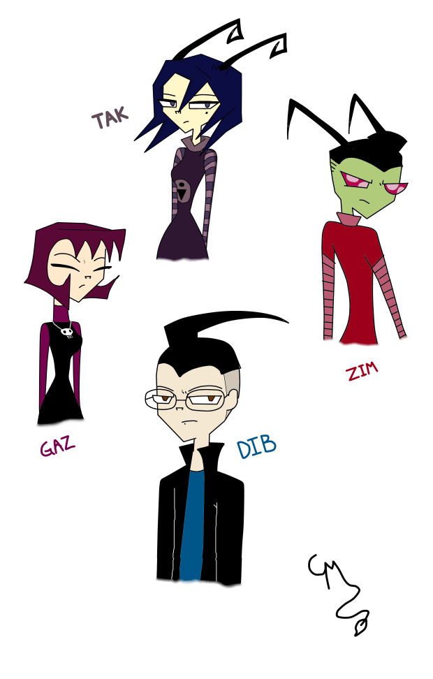 invader zim character by - photo #7