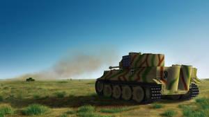 tiger vs t-34 B by thesunwillnevershine