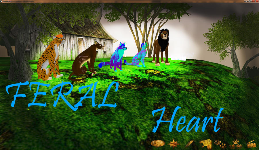 Other Video Game That You Can Play As An Animal (PC) Feral_heart_by_lvicek99-d3ao08m