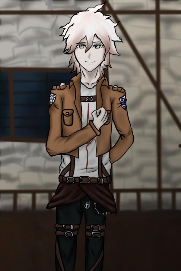 Komaeda Nagito [SnK Uniform] by lvicek99