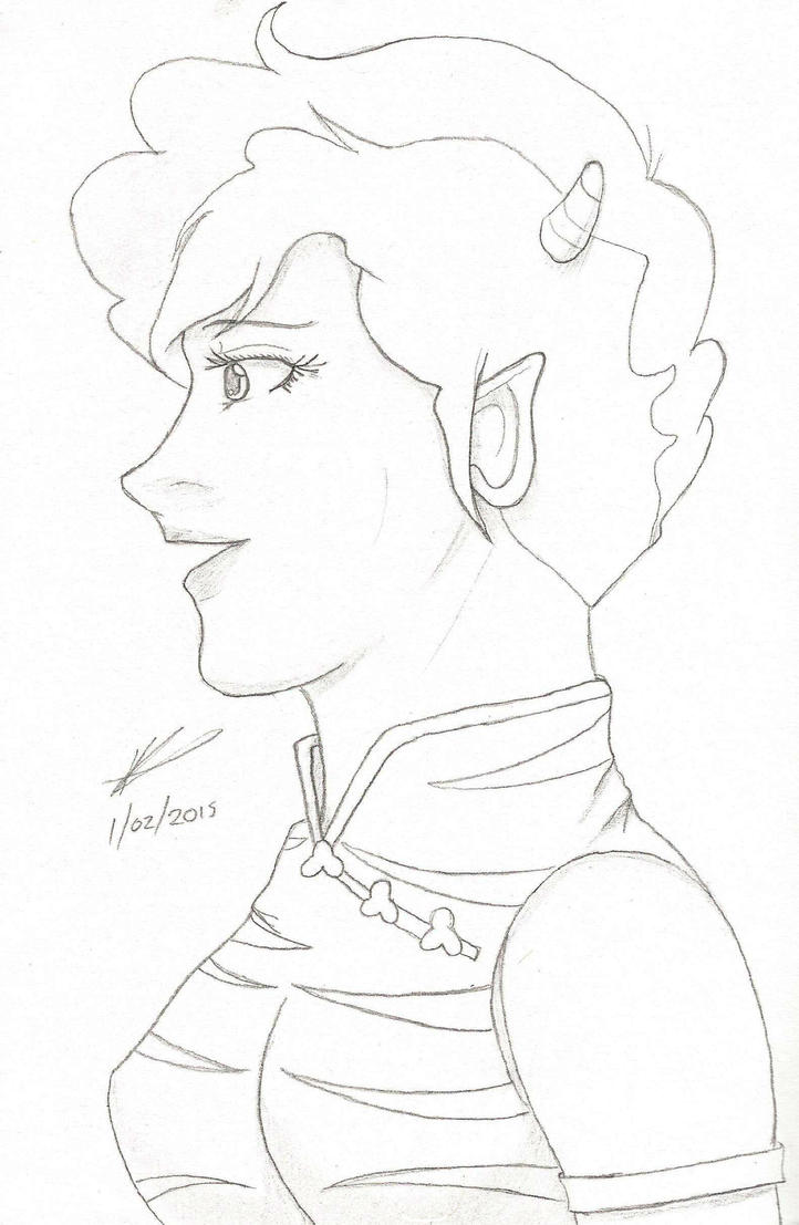 Lum's Mother by Valaurelius