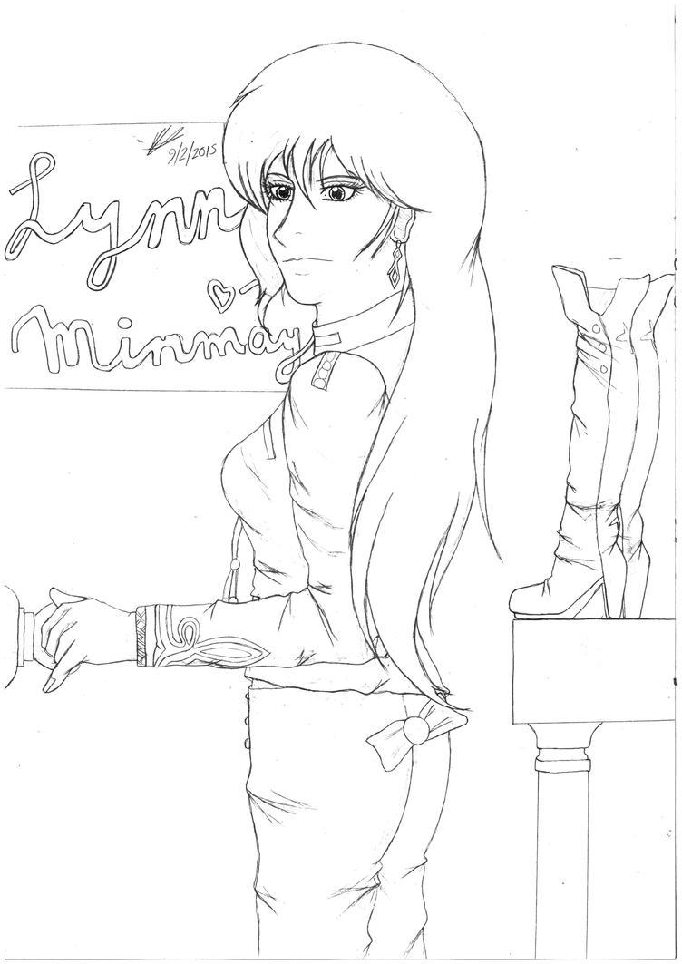 Lynn Minmay by Valaurelius