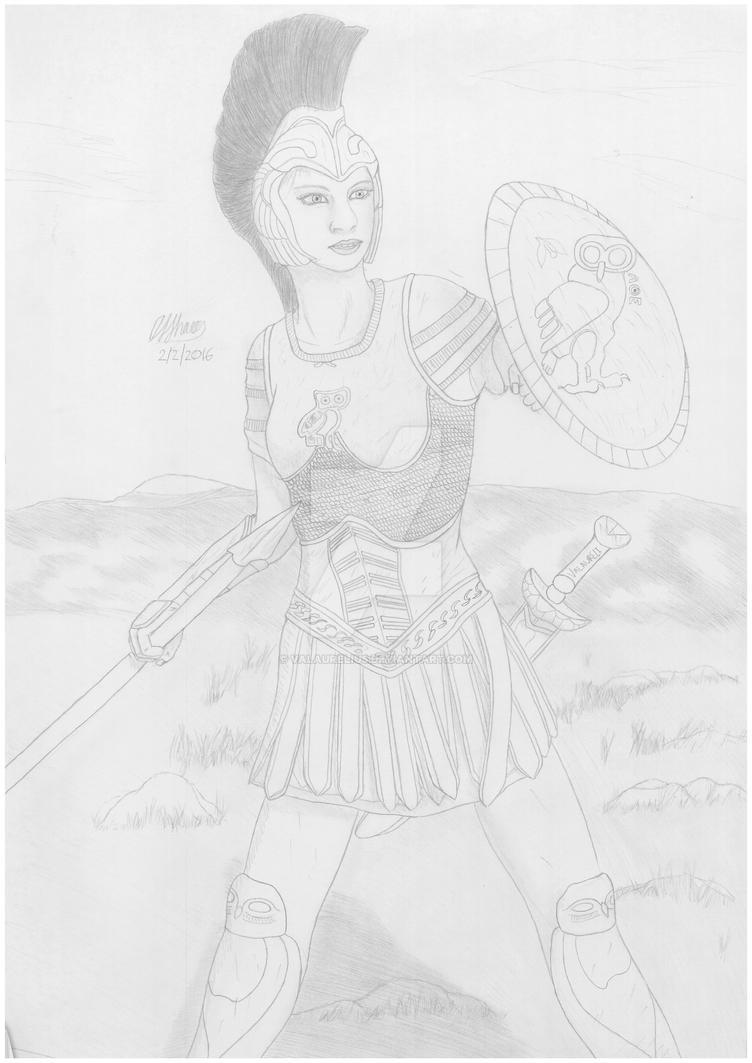 Athena by Valaurelius