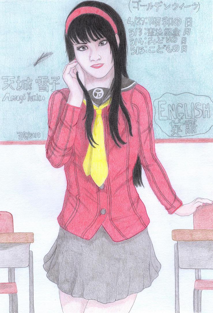 Yukiko Amagi by Valaurelius