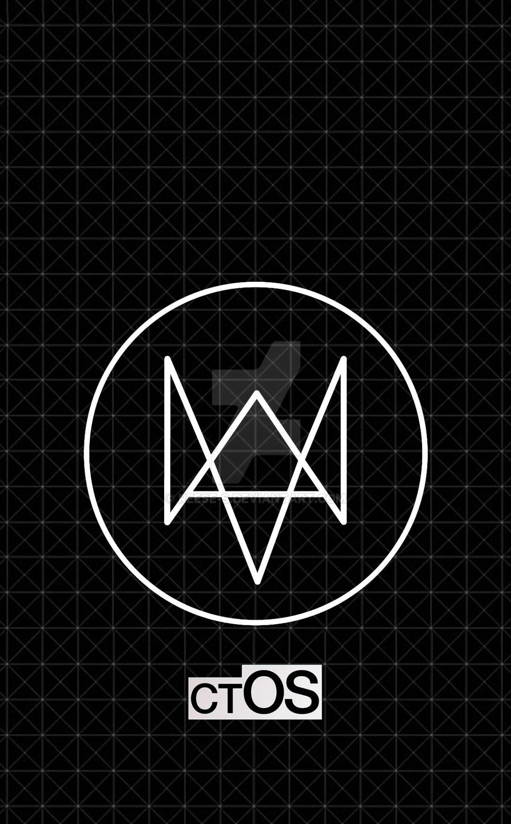 Watch Dogs - ctOS grid iPhone wallpaper by reese-s on ...