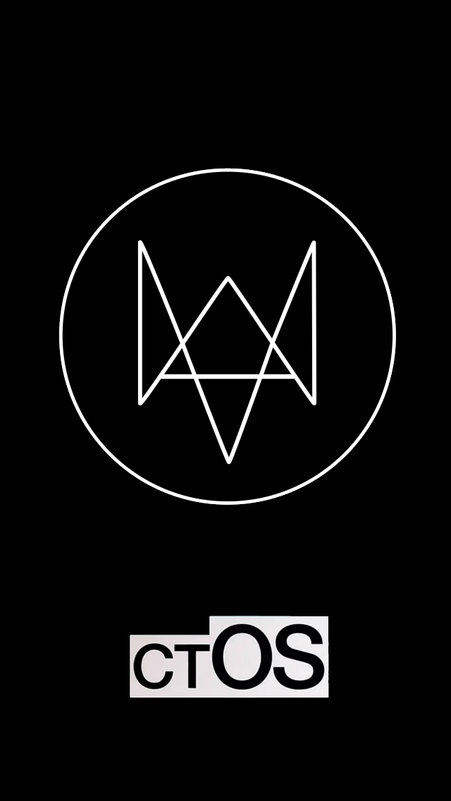 watch dogs ctos iphone wallpaper by reeses on deviantart