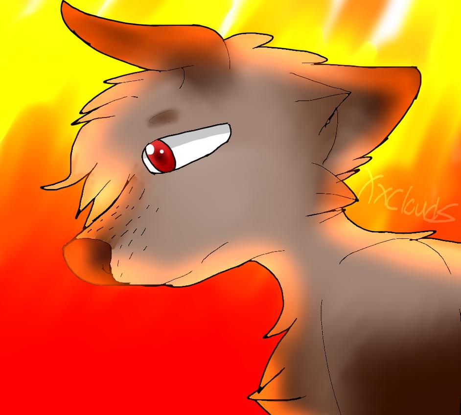 Wolf thing? by xXCloudz
