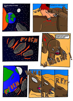 Cretaceous Survivor -Page 1-