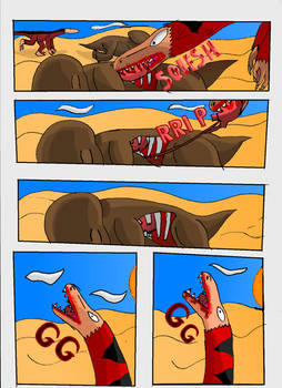 Cretaceous Survivor -Page 3-