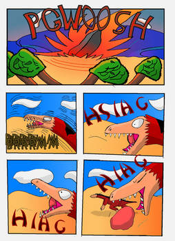Cretaceous Survivor -Page 4-