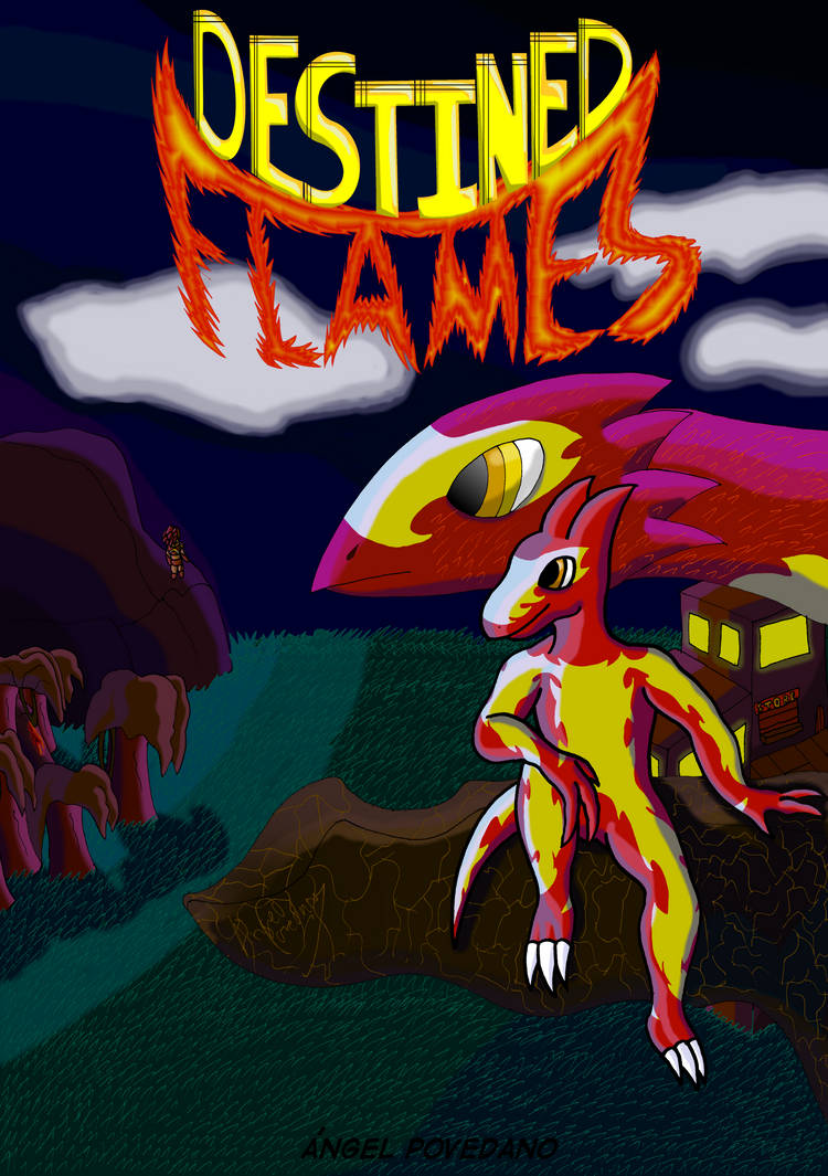 Destined Flames -Main Cover-