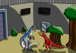 A Cretaceous Survivor in the Jurassic World