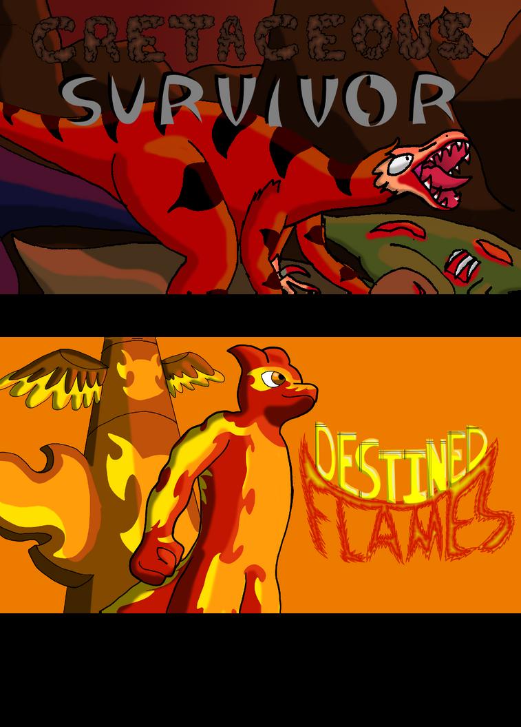 Cretaceous Survivor and Destined Flame on Tapastic by SpeedComics