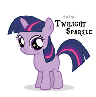 Twilight Sparkle Filly by Blackm3sh