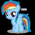 Rainbow Dash Filly
