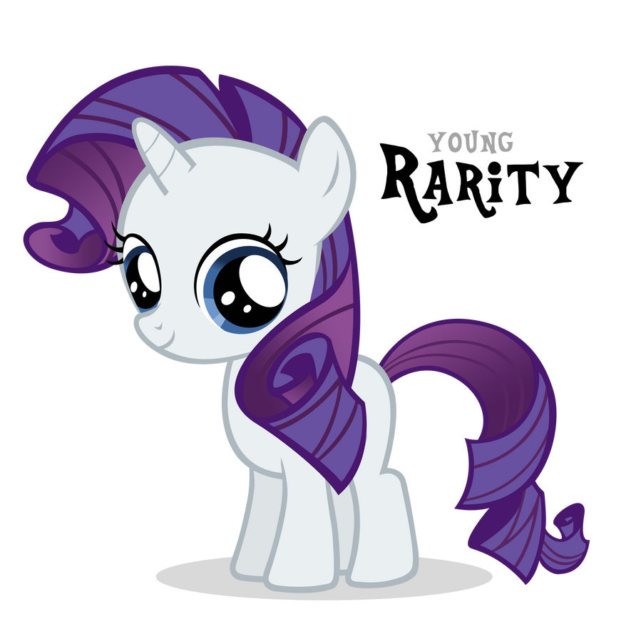 Oh Filly Rarity, You so cute! (Newbie ATG Day 5) by Ocean ...