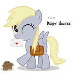 Derpy Hooves Filly