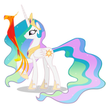 Princess Celestia ad Philomena