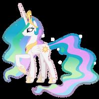 Princess Celestia by Blackm3sh