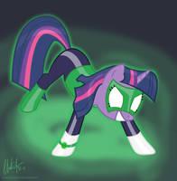Green Lantern Twilight by Blackm3sh