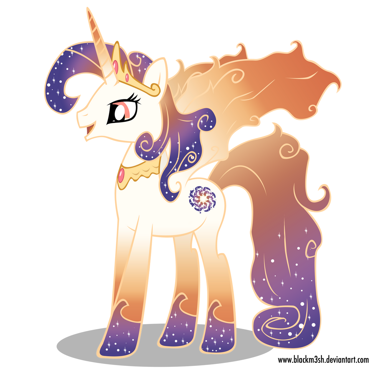 Luna and Celestia's Mother by Blackm3sh on DeviantArt