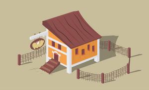 Apple Acres-Chicken Hut by Blackm3sh