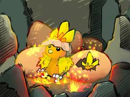 The Burst of Newborn Power by TheBlazingK