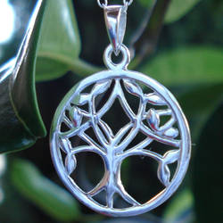 Sterling Silver Family Tree...
